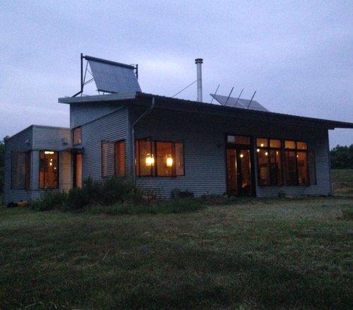 Off Grid Modern Prefab House! We're Home! Off Grid Rhythm ...