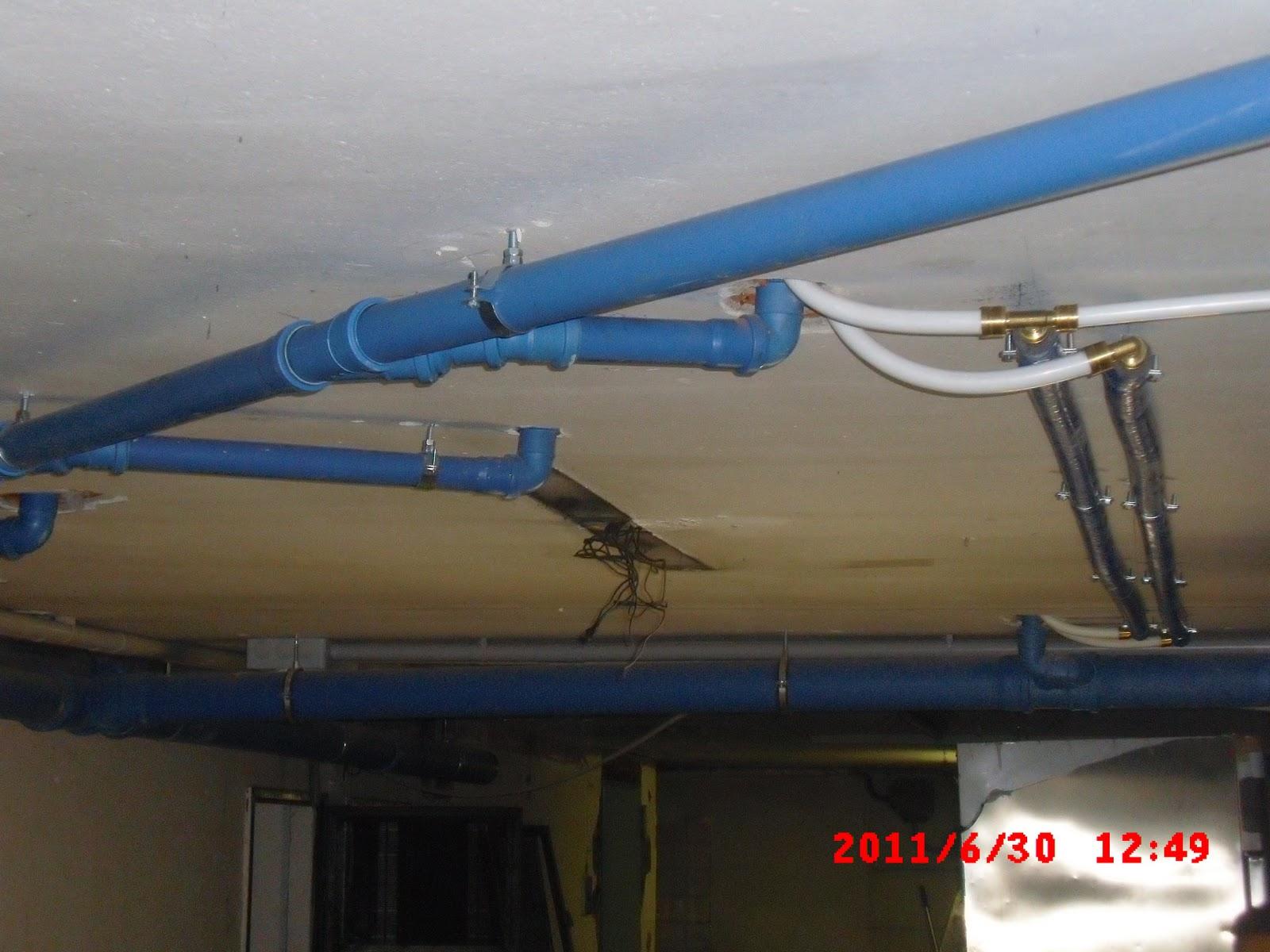 Ristorante cinisello rifacimento impianti di for Materiale del tubo della linea d acqua