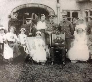 War injured at Pontyclun Athletic Club in WW1