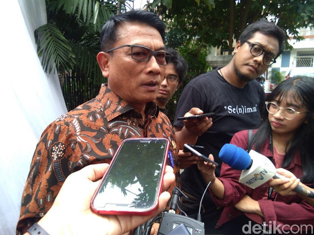 Moeldoko Kutuk Ceramah Habib Bahar bin Smith 'Jokowi Kayaknya Banci'