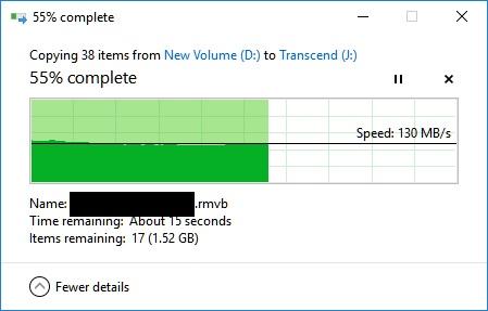 Transcend StoreJet 25MC 1TB Performance Review 41