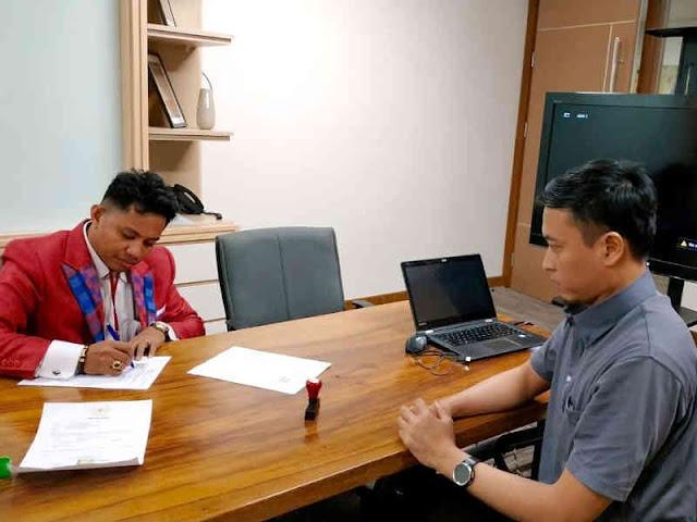 Indonesian Youth Updates dan Almaviva Indonesia MoU Bidang IT dan Aplikasi Online