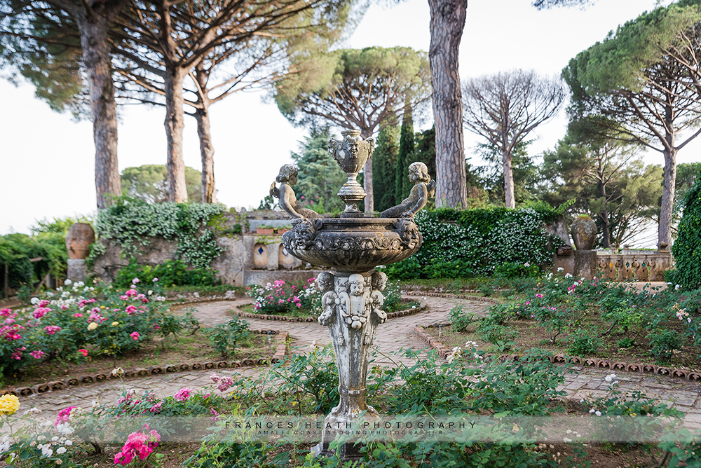 Fountain in Villa Cimbrone