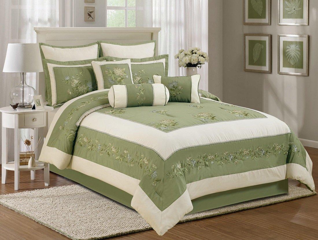Olive Green Bedding Sets: Green Serene on a Budget