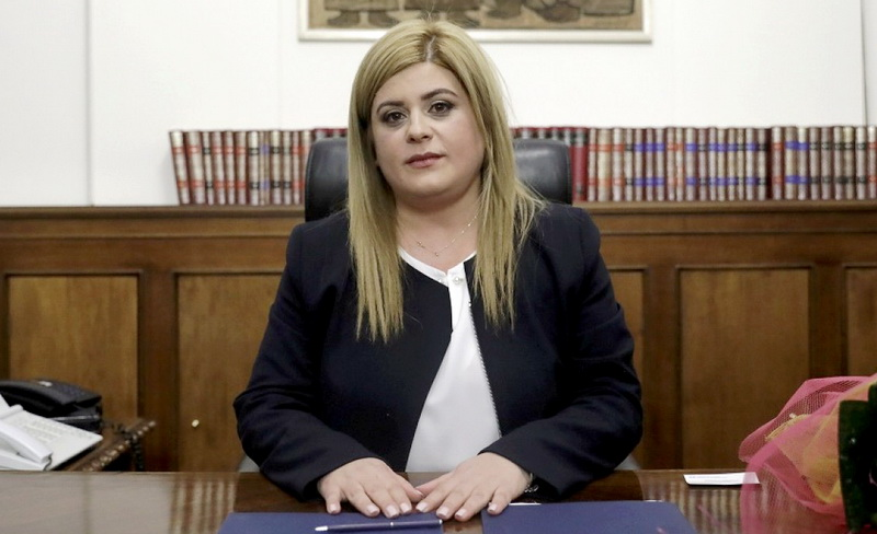 Τον Έβρο επισκέπτεται τη Δευτέρα η Υφυπουργός Μακεδονίας - Θράκης Ελευθερία Χατζηγεωργίου