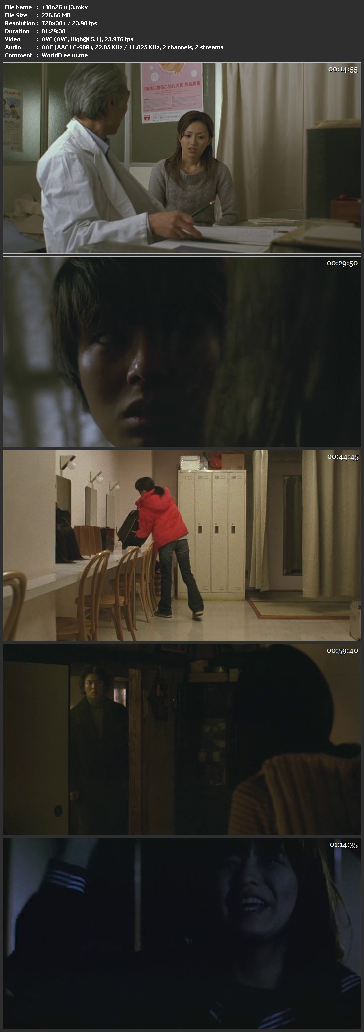 Screen Shot Of Ju-On The Grudge 2 2003 Full Movie Download 300MB In Hindi 480P Full small Size PC Movie