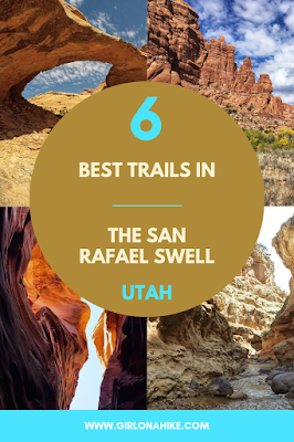 The 6 Best Trails in The San Rafael Swell, Camping at The Wedge Overlook