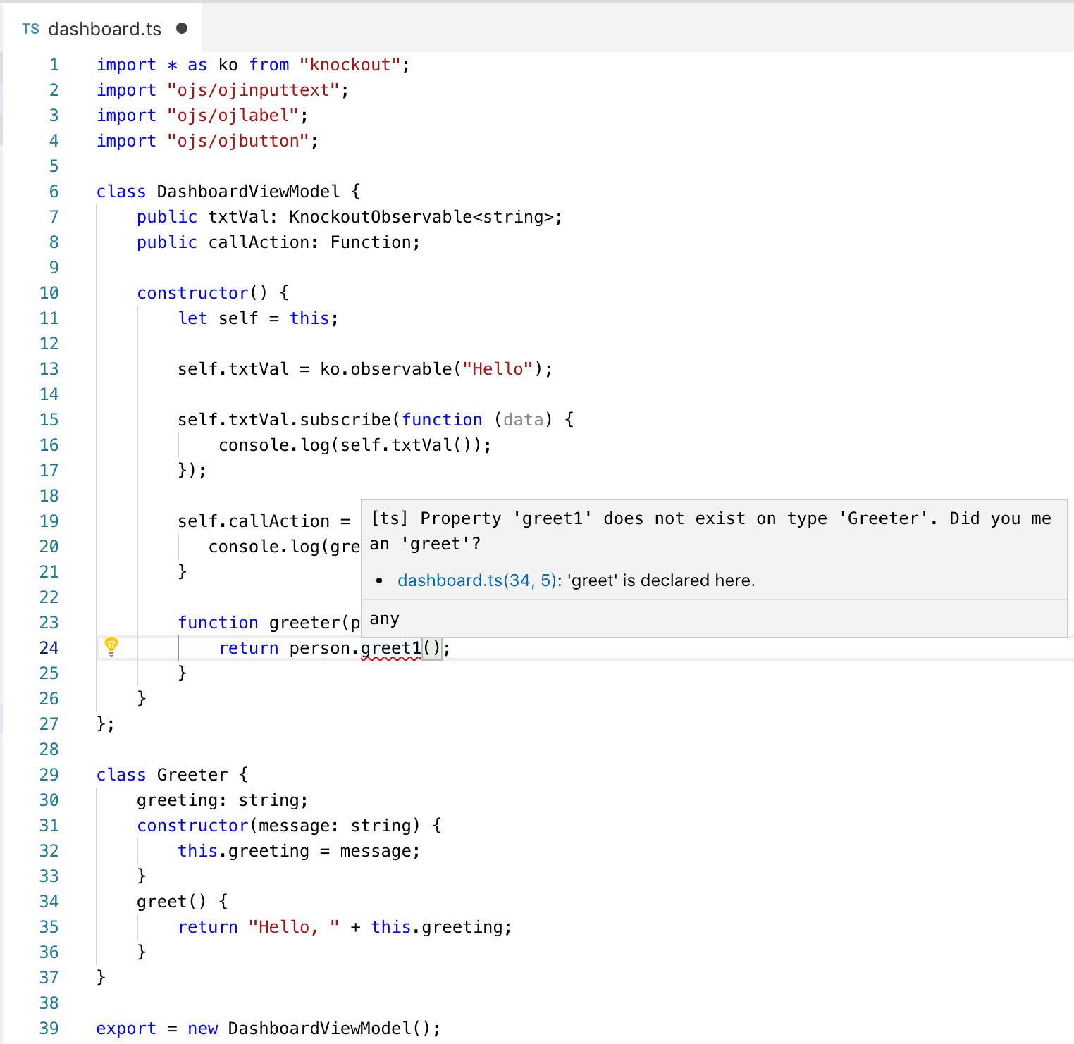 Andrejus Baranovskis Blog: TypeScript Example in Oracle JET 6 0 0