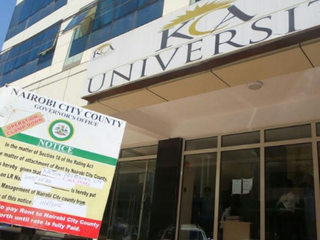 List of Courses Offered at KCA University