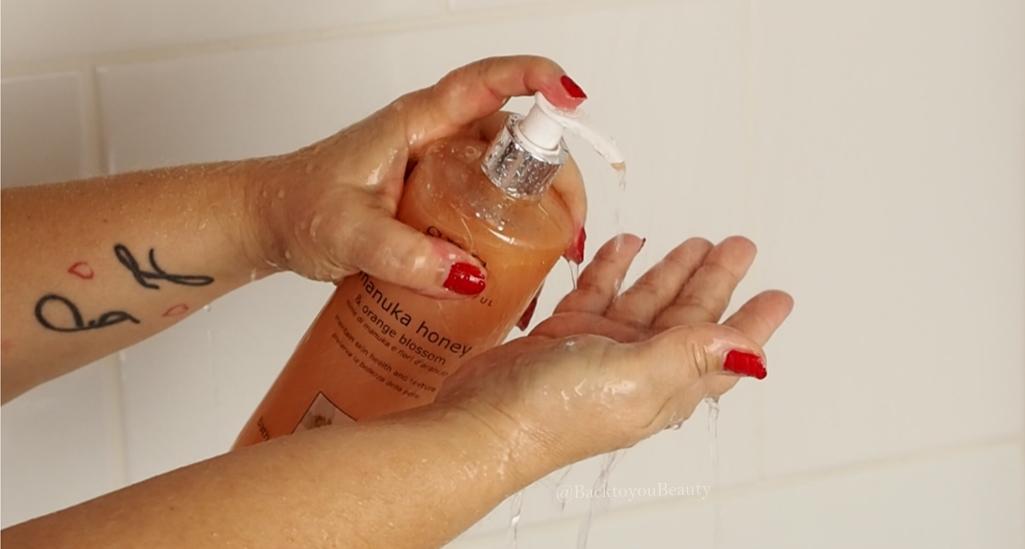 SBC Manuka & Orange Blossom Shower Cream