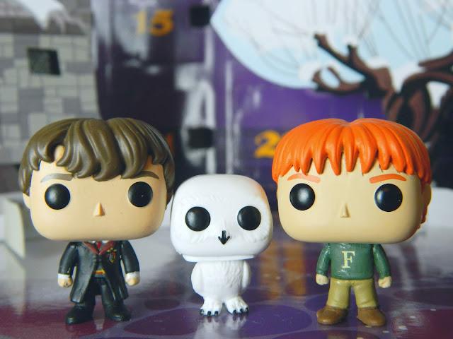 Funko Pocket Pop! Neville Longbottom, Hedwig, Fred Weasley