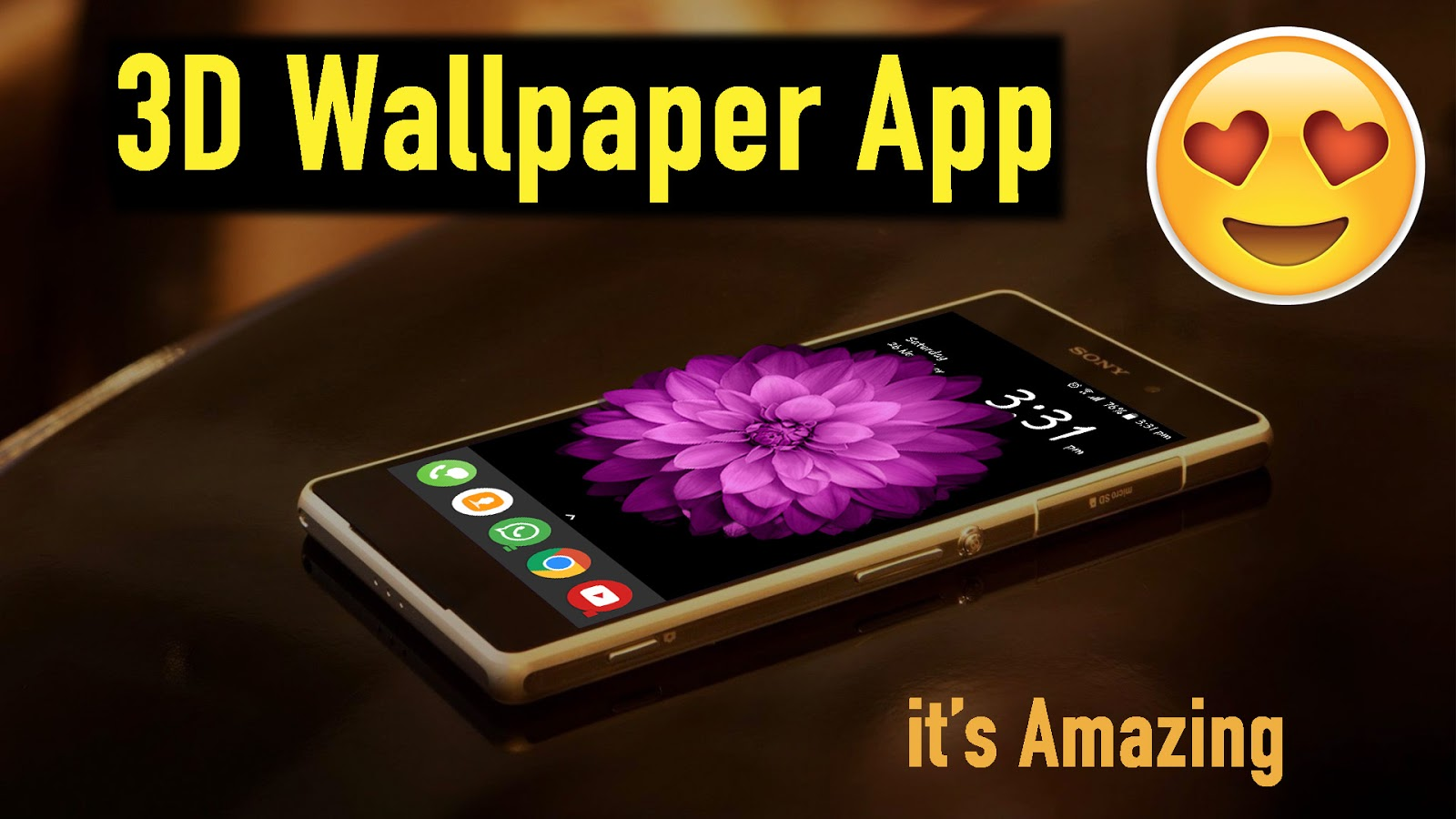 Amazing 3d Wallpaper App