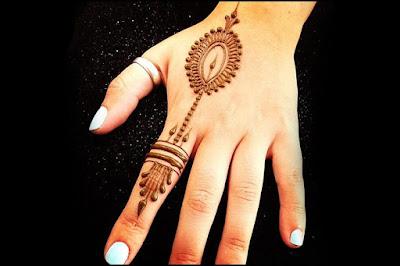 Mehndi designs fingers 2017