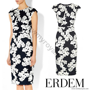 Countess Sophie wore Erdem Analena Dress