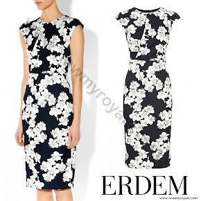 Countess Sophie wore Erdem Analena Dress
