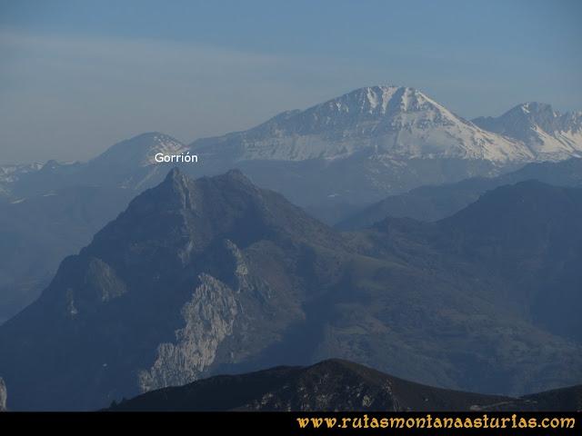 Ruta Linares, La Loral, Buey Muerto, Cuevallagar: Vista del Gorrión