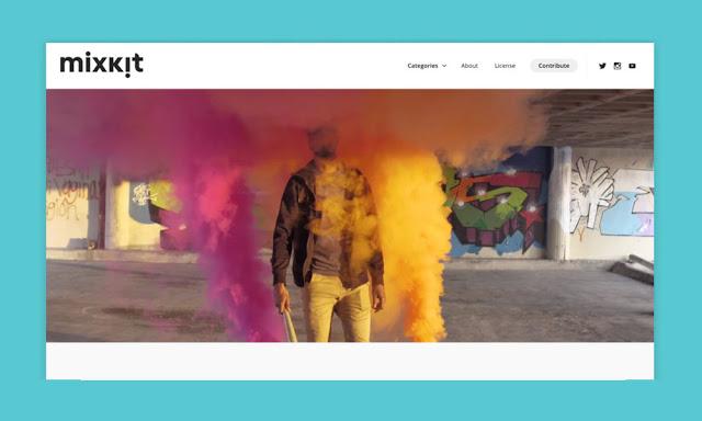 Mixkit: New Platform to upload HD Video Footage & Animation [NO COPYRIGHT]