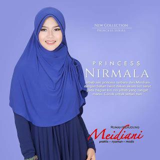 Jilbab Santai Princess Nirmala