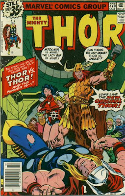 Thor #276, vs thor