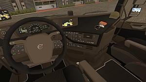 Volvo 2012 Dark Beige interior