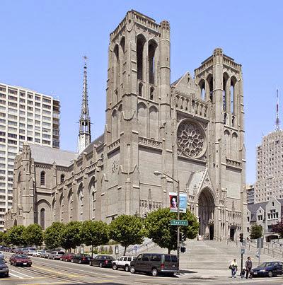 Grace Cathedral em San Francisco na Califórnia