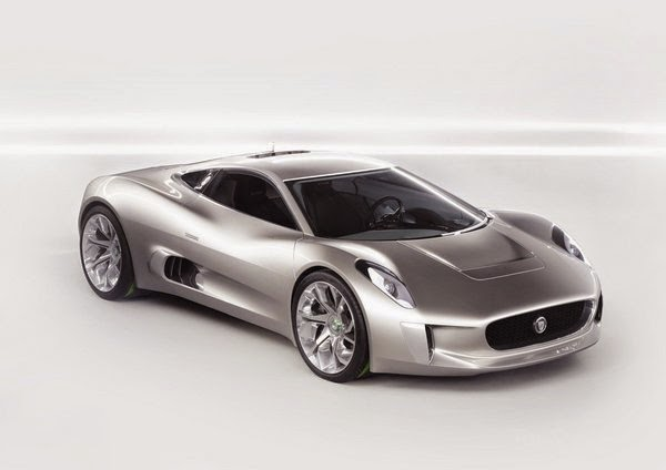 The Jaguar C X75 Is A Hybrid Electric Concept Car. This Two Seated Jaguar  Debuted At The 2010 Paris Motor Show. It Is Capable Of Producing 778  Horsepower ...