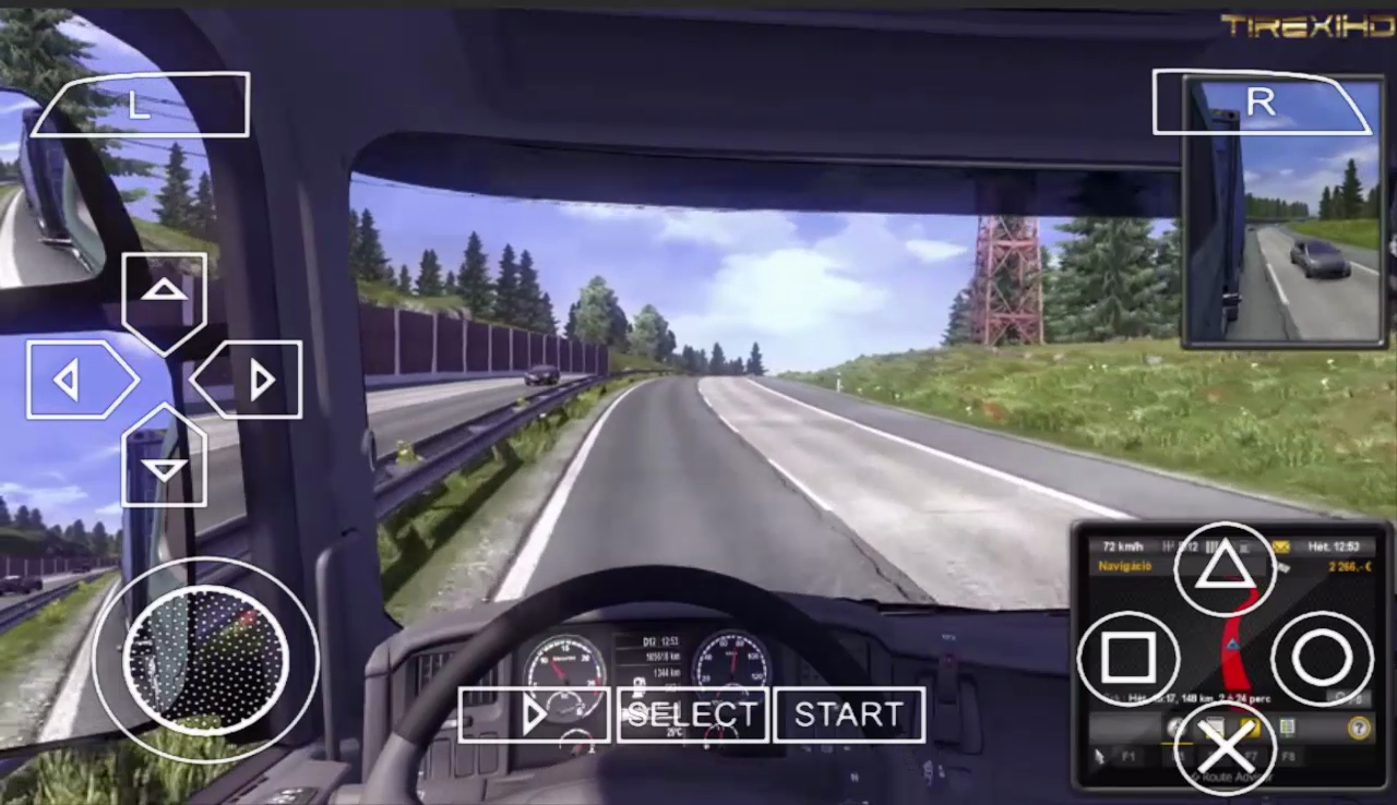 Euro Truck Simulator 2 PSP ISO Download PPSSPP Android ...