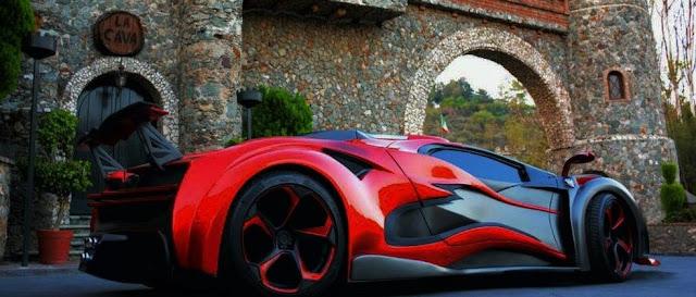 Inferno Exotic Car - Diseñado en México