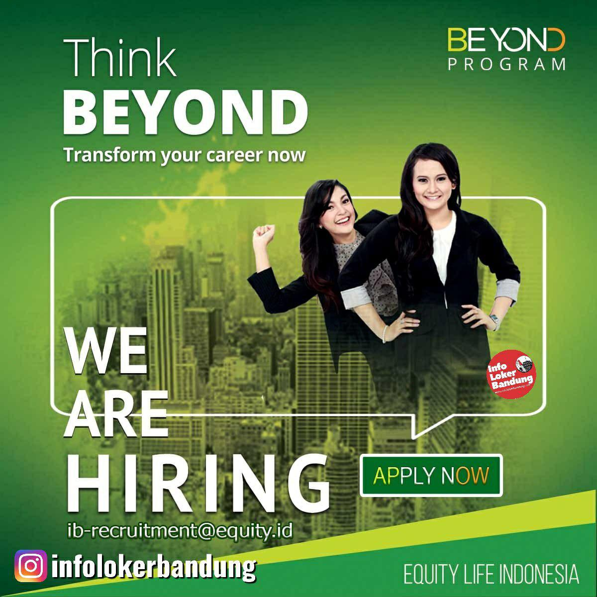 Lowongana Kerja PT. Equity Life Indonesia Bandung April 2019