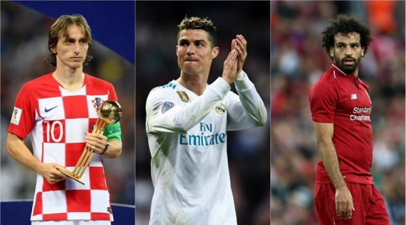 Cristiano Ronaldo, Luka Modric and Mohamed Salah have been revealed as UEFA's Player of the Year nominees