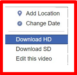 Save Video From Facebook 2017