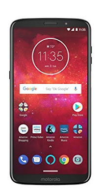 Moto Z3 Play – 64 GB – Unlocked (AT&TSprintT-MobileVerizon) – Deep Indigo – Prime Exclusive Phone