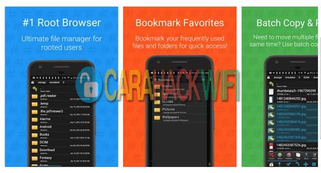 cara mudah melihat password wifi di android