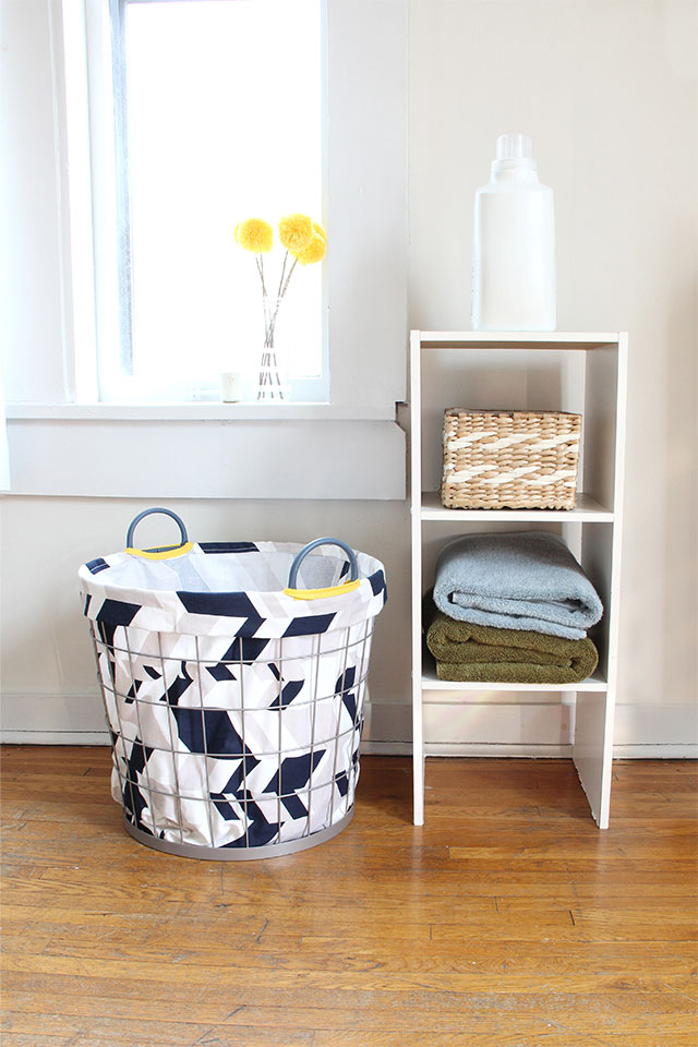 How to make a custom laundry hamper
