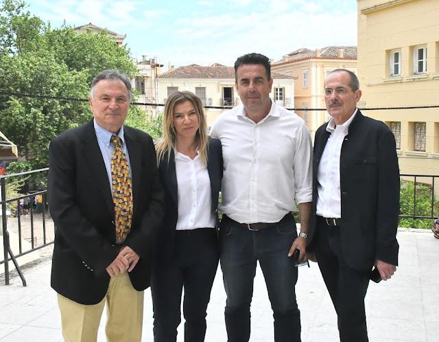 Εντυπωσίασε η Χρύσα Κανούση στην εκδήλωση του Δήμου Ναυπλιέων για Θέματα Υγείας της σύγχρονης γυναίκας