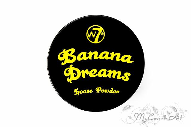 Banana Dreams de W7: polvos traslúcidos amarillos.