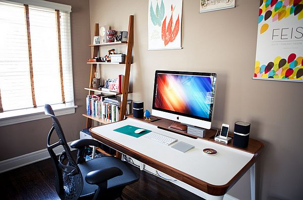 Setting home office