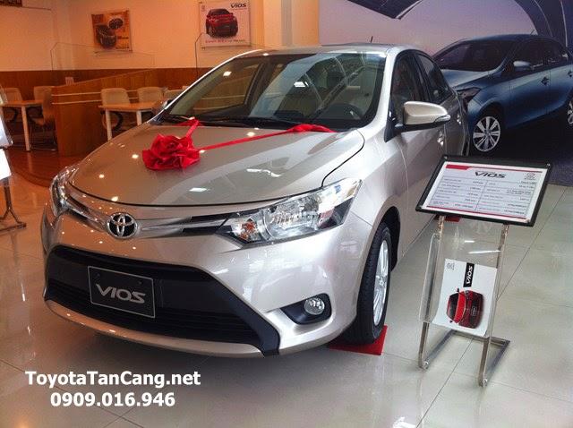 toyota vios 1 5 e toyota tan cang 1 -  - Giá xe Toyota Vios 1.5E khuyến mãi tốt nhất Tp. Hồ Chí Minh