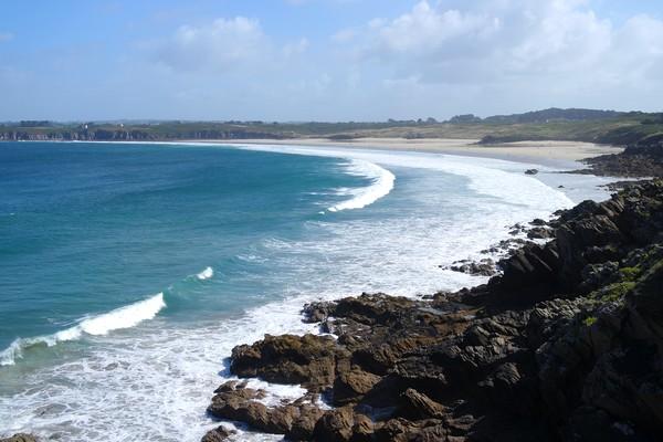 bretagne finistère gr34 le conquet presqu'île kermorvan plage blancs sablons