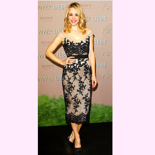 Style-Delights: Trend Spotting - Black Lace Overset Dresses