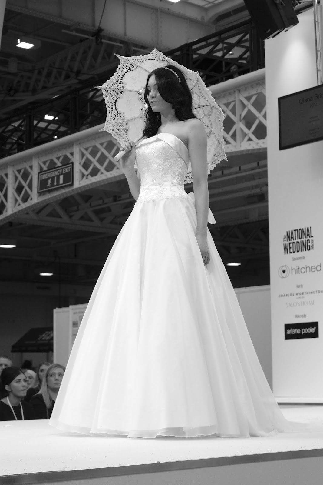 the national wedding show london 2016 catwalk