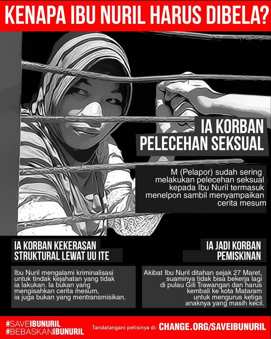 Kasus Ibu Nuril, Hukum Jangan Sampai Kehilangan Hakikatnya