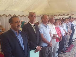 فرعية أولاد اسميدة التابعة لمجموعة مدارس دار الفلاح بمديرية الفقيه بن صالح تحتفي بتلاميذها المتفوقين