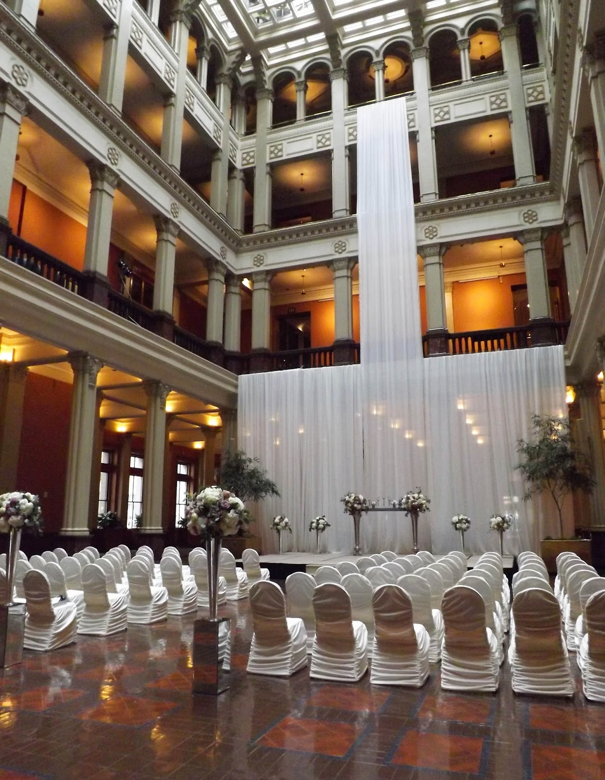 The Landmark Seamlessly Enables S To Host Their Wedding Ceremony Tail Hour And Reception In Same E For Justine Jin