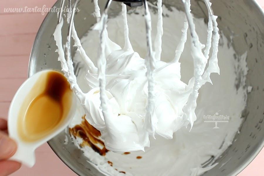 Receta Crema de Nubes, Malvaviscos o Marshmallow