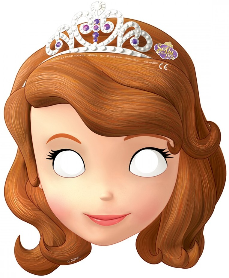 Sofia The First Free Printable Masks Oh My Fiesta In English