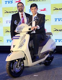 The TVS Jupiter Classic Edition launching event picture