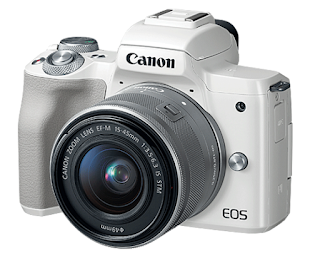 Canon EOS M50 Mirrorless Camera White