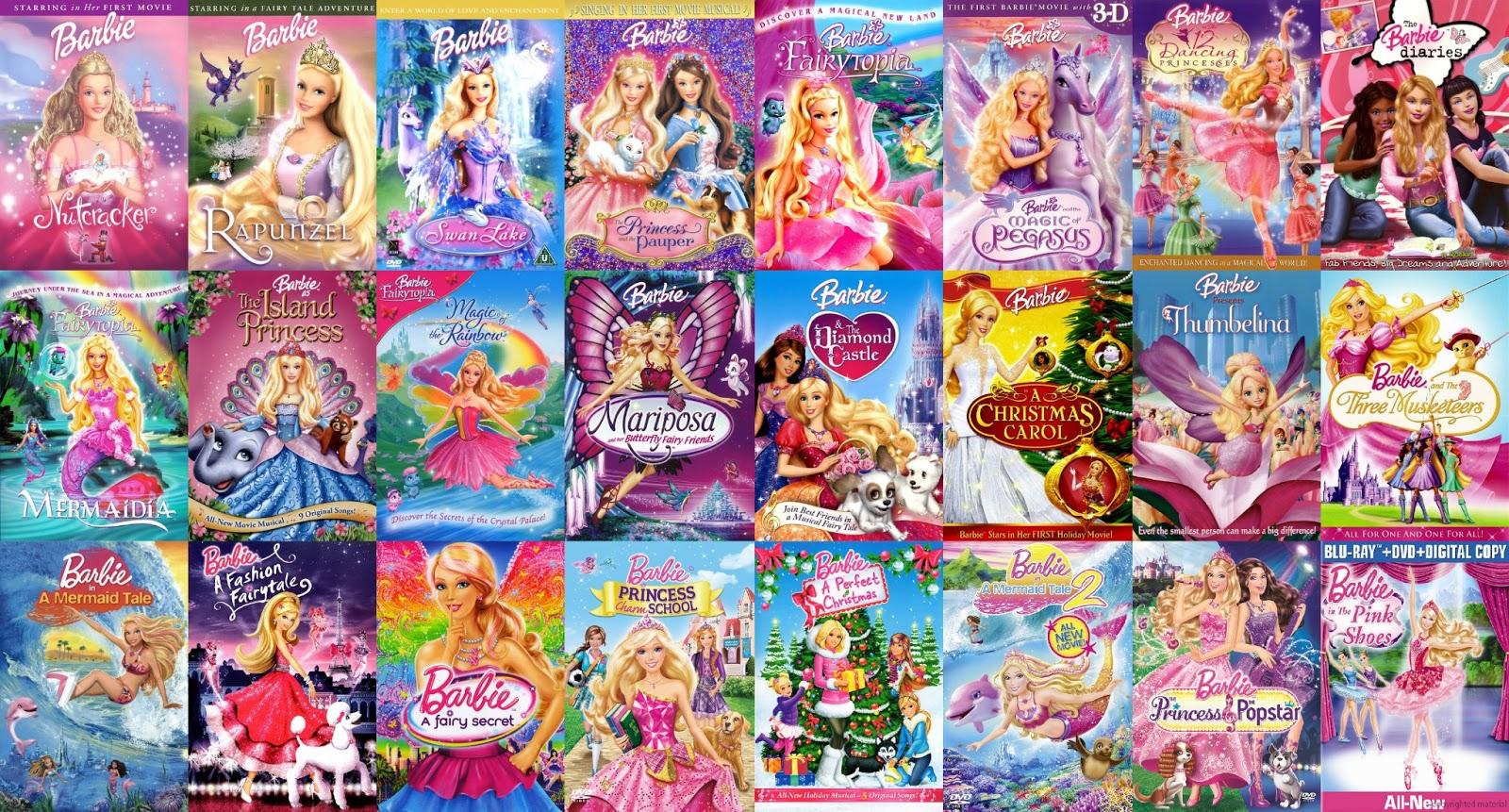 Barbie Film Series Filme
