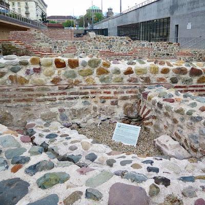 Ruinas de Ulpia Serdica, Sofia, Bulgaria